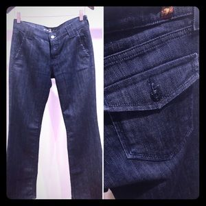 Dark Wide Leg Denim - 7 for All Mankind